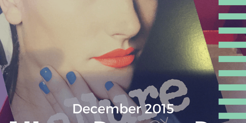 Allure Beauty Box December 2015 Review