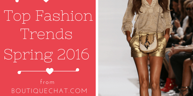 Top Fashion Trends For Spring 2016
