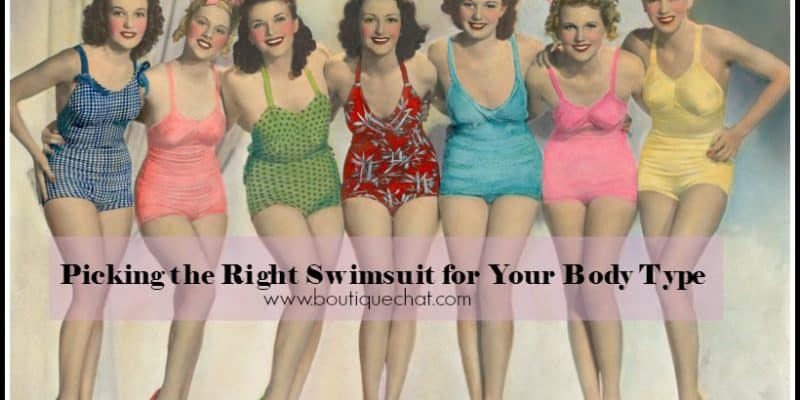 Picking the Right Swimsuit for Your Body Type