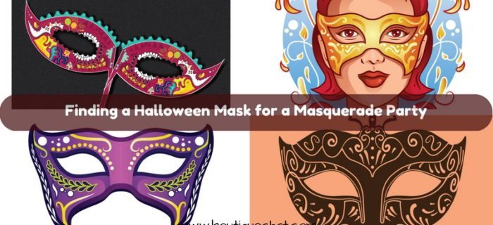 Finding a Halloween Mask for a Masquerade Party