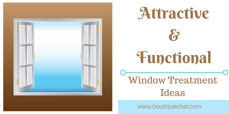 Attractive window treatment ideas