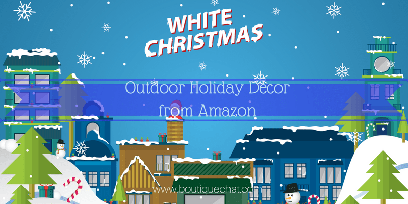 Outdoor Holiday Decor from Amazon
