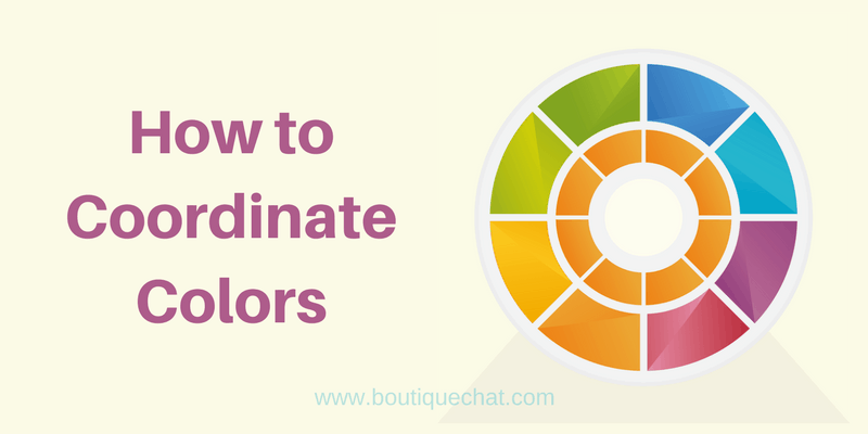 Good Color Coordination Can Help You With